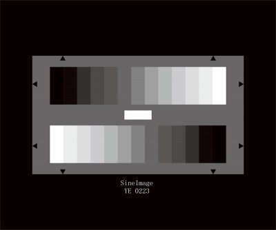 HDTV Gray Scale Test Chart